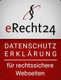 erecht24-siegel-datenschutz-rot - Vintage Onlineshop