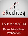 erecht24-siegel-impressum-rot - Vintage Onlineshop